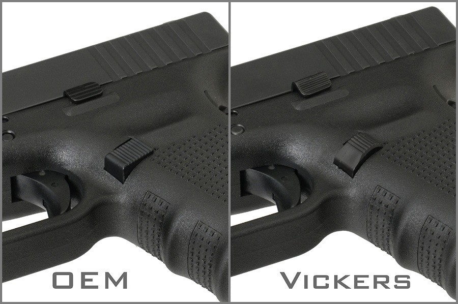 Vickers Tactical Extended Magazine Catch - Glock GEN4-5